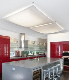 cover up ugly lighting fluorescent light cover diy projects in rh pinterest com Kitchen Fluorescent Light Fixtures Kitchen Fluorescent Light Covers