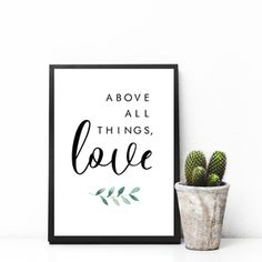 Above All Things, Love - Free Digital Download