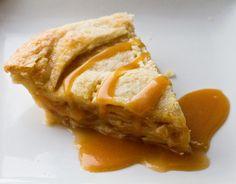 Vegan Caramel Apple Pie!