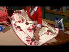 Delightful Dresden Appliques (Part 1 of 2) - SEWING WITH NANCY - YouTube
