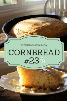 My husband loves cornbread, and says my recipe make him want to keep me around. (I make it differently every time. Calling this one Cornbread Recipe #23.)