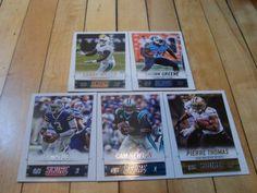 #EJManuel #LamarMiller #ShonnGreene #PierreThomas #CamNewton #2014Score Card Lot | #eBay #NFLFootball