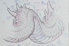 Chapter 2: The Body - @tonyhu_chronicink discusses how to draw the body of the dragon and scale design. Scale design is one of the most difficult parts of the dragon, and Tony discusses his techniques for drawing the scales so that it flows correctly with the body. He ends the chapter with a full body design, incorporating all of the elements of the dragon. Chapter 2 consists of 3 sub-chapters. - 2.i - Body Design 2.ii - Scale Theory & Design 2.iii - Full Body Design - #inkworkshops