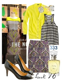 """Project 333/Spring Look 16"" by jcrewchick ❤ liked on Polyvore featuring J.Crew and Christian Dior"