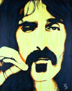 frank zappapainting - Google zoeken Pop Rocks, Original Artwork, Original Paintings, Guitar Painting, Frank Zappa, Music Heals, Indie Music, Artist Art, Pop Art