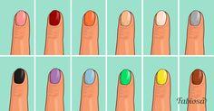 Выберите ваш цвет лака и узнайте, что люди думают о вас