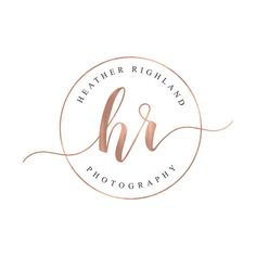 Affordable Photography Watermark, Rose Gold Logo, Photography Logo, Affordable Branding, Branding Package