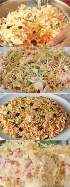Pasta recipes simple dishes 50 ideas for 2019 Pasta Dinner Recipes, Pasta Salad Recipes, Easy Cooking, Cooking Recipes, Healthy Recipes, Dishes Recipes, Delicious Recipes, Salads For A Crowd, Sausage Pasta Bake