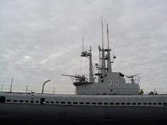 Tour a real World War II submarine at the U.S.S. Batfish & War Memorial Park in Muskogee, Oklahoma.