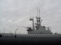 Tour a real World War II submarine at the U.S.S. Batfish  War Memorial Park in #Muskogee, #Oklahoma.