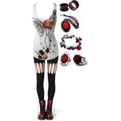 """""""Untitled #1096"""" by bvb3666 on Polyvore"""