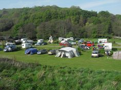 Watermouth Valley Camping Park. Caravan Camping Holidays in North Devon