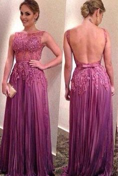 High quality prom dress,sleeveless prom dress,backless prom dress,beautiful Applique Evening Dress,Elegant Women dress,Party dress L414