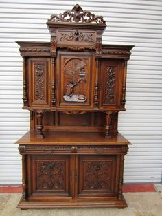 Antique Furniture French Antique Hutch Buffet Antique Sideboard Cabinet