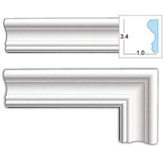 @Overstock - As a decorative element, door casings help define the style of a room by tying together all the trim elements like crown molding, window casings, and baseboards. This door casing can be cut and installed just like a wood product.http://www.overstock.com/Home-Garden/Decorative-3.4-inch-Door-Casing/5562839/product.html?CID=214117 $130.99