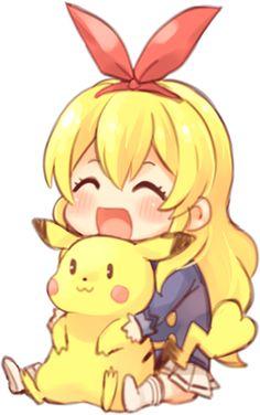 ichigo hoshimiya pikachu