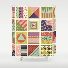 Patternz Shower Curtain