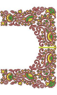 7891 Cording Blouse Design