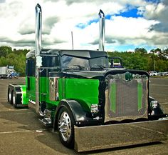 Peterbilt by jack byrnes hill, via Flickr