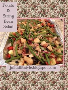 Julie's Lifestyle: Potato & String Bean Salad