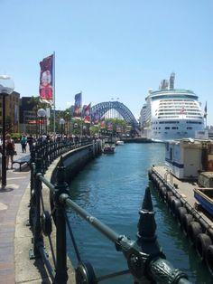 The Rocks The older part of Sydney - The Old Wharfes Australia Trip, Australia Living, Sydney Australia, Tasmania, Beautiful Islands, Beautiful Places, The Wonderful Country, Terra Australis, P&o Cruises