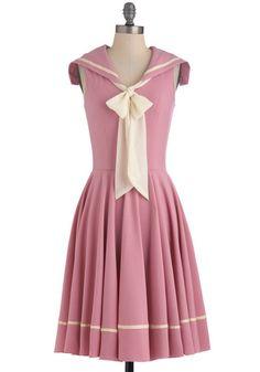 Pink Sailor Dress