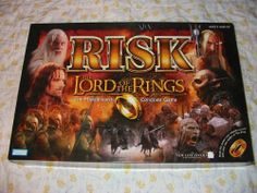 Risk: The Lord of The Rings The Middle Earth Conquest Game - Rule the Land with the power of the Ring!!