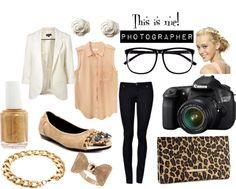 Photographers always ask what to wear to a consultation/event. You don't want to come off as unprofessional in jeans & a tee (which you'd wear to an average shoot). Give a fun, friendly vibe. Accessories that people, especially women, compliment. (i.e. rings, shoes, & so on.) Keep flexibility in mind. Will you be bending down & squatting at the wedding ceremony? Re-think the dress! Cute flats- not heels! Important: Bangs & long hair should be secured away from your eyes while shooting.