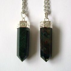 Blood Stone Crystal Point