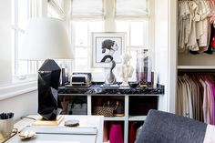 Closet via Emily Jackson / The Ivory Lane