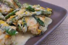 ... Kitchen: Recipe Update: Chicken with Asparagus and Three Cheeses