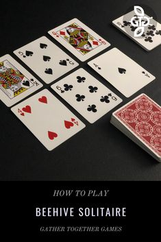 One Player Card Games, Card Games For One, Family Card Games, Fun Card Games, Playing Card Games, Dice Games, Games To Play, Patience Card Game, Solitaire Cards