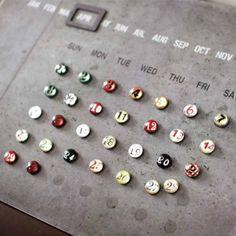 万年 カレンダー SPICE