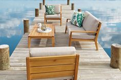 Westin 4 Piece Outdoor Lounge Setting Outdoor Armchair, Outdoor Cushions, Outdoor Lounge, Outdoor Living, Outdoor Decor, Furniture Covers, Outdoor Furniture Sets, Outdoor Coffee Tables, High Quality Furniture
