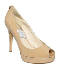 MICHAEL Michael Kors Shoes, York Peep Toe Platform Pumps