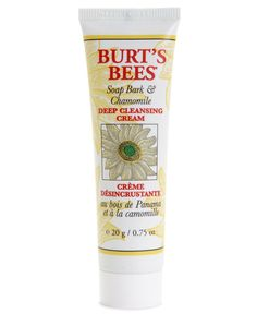 Receive a Free travel size Soap Bark & Chamomile Deep Cleansing Cream with any $25 Burt's Bees purchase!