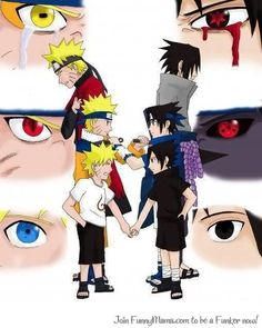 Naruto and Sasuke...