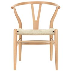 these are the most inexpensive wishbone chairs I can find- free shipping! LexMod C24 Wishbone Chair in Natural