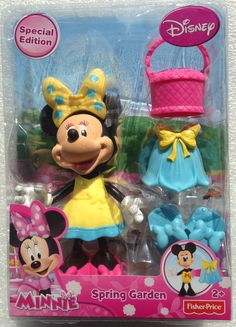 Disney Minnie Mouse Spring Garden Special Edition Figure and Accessories