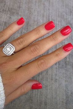 Engagement manicure and wedding nail art ideas | You & Your Wedding