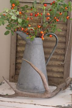 old pitcher with bittersweet