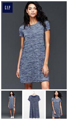 Softspun knit t-shirt dress