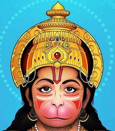 No automatic alt text available. Ram Hanuman, Lord Krishna, Hanuman Lord, Shiva, The Mahabharata, 3d Drawings, God Pictures, Rangoli Designs, Still Life Photography