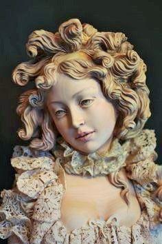 Yulia Sochilina wooden art doll