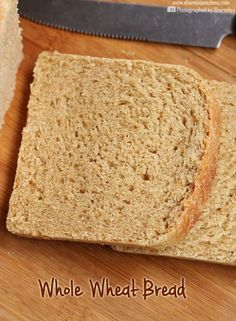 Whole Wheat Sandwich Bread Recipe - Atta Bread - Sharmis Passions Eggless Bread Recipe, Whole Wheat Sandwich Bread Recipe, Whole Wheat Bread Machine Recipe, Bread Machine Wheat Bread Recipe, Best Whole Wheat Bread, Wholemeal Bread Recipe, Sandwich Bread Recipes, Bread Machine Recipes, Banana Bread Recipes