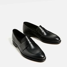 LIMITED EDITION LEATHER LOAFERS-View all-SHOES-WOMAN | ZARA United States