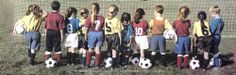 SOCCER KIDS Youth Football Inspirational Poster ~available at www.sportsposterwarehouse.com