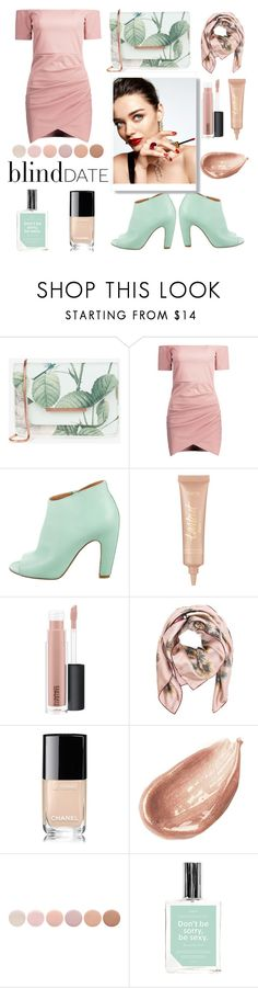 """Do you have a crush?"" by lenochka-li ❤ liked on Polyvore featuring Ted Baker, Maison Margiela, tarte, MAC Cosmetics, KAROLINA, Valentino, Chanel, Jouer, Deborah Lippmann and Anese"