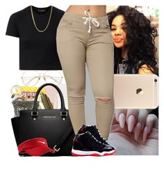 """Back2school #50"" by msixo ❤ liked on Polyvore featuring NIKE"
