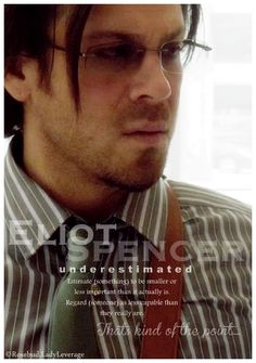 Eliot Spencer---- Christian  KANE made by ladee leverage